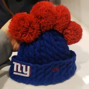 Giants NFL toddler hat